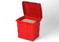 86014 Ящик для песка, 650х500х570, 108 л, красный