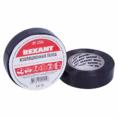 Изолента 19 мм х 25 м, черная (упак. 5 роликов) REXANT (09-2206)