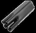 Термоусаживаемая перчатка на 5 жил 70.0 / 38.0 мм черная REXANT (48-5070)