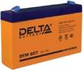 Аккумулятор 6В 7 А∙ч (DTM 607)