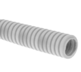Труба гофрированная ПНД лёгкая 350 Н безгалогенная (HF) стойкая к ультрафиолету серая с/з д16 (100м/5500м уп/пал) Промрукав