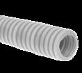 Труба гофрированная ПНД лёгкая 350 Н безгалогенная (HF) стойкая к ультрафиолету серая с/з д20 (100м/4800м уп/пал) Промрукав