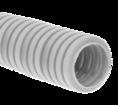 Труба гофрированная ПНД лёгкая 350 Н безгалогенная (HF) стойкая к ультрафиолету серая с/з д32 (25м/1375м уп/пал) Промрукав