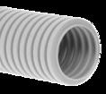 Труба гофрированная ПНД лёгкая 350 Н безгалогенная (HF) стойкая к ультрафиолету серая с/з д50 (15м/660м уп/пал) Промрукав