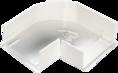 Угол плоский изменяемый для кабель-канала 40х20 (040004S) SPL PROF