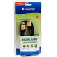 Defender HDMI-HDMI PROFESSIONAL зол.контакты [HDMI-06PRO], 1.8м