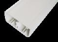 Кабельный канал с крышкой  100х50х2000мм (белый) (100001S) SPL PROF 16 м/уп