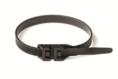 Хомут P12 гибкий, черный, 9х360 DKC Quadro (26455) кратно 100шт