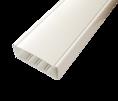 Кабельный канал с крышкой  130х50х2000мм (белый) (130001S) SPL PROF 10 м/уп