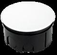 Коробка распаячная 80-0850 для с/п безгалогенная (HF) 76х42 (192шт/кор) Промрукав