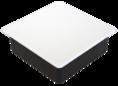 Коробка распаячная 80-0860 С для с/п безгалогенная (HF) 103х103х47 (72шт/кор) Промрукав