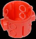 Коробка установочная углубленная 80-0510 безгалогенная (HF) 64х60 (160шт/кор) Промрукав