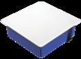 Коробка распаячная ГСК 80-0960 С для с/п безгалогенная (HF) 103х103х47 (72шт/кор) Промрукав