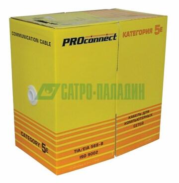 PROconnect Кабель UTP 4PR 24AWG CAT5e OUTDOOR, 305м CCA PROconnect (01-0045-3)