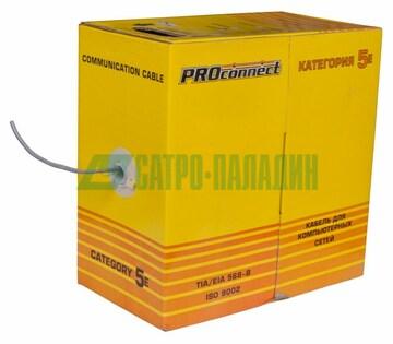 PROconnect Кабель UTP 4PR 24AWG CAT5e 305м CCA PROconnect (01-0043-3)