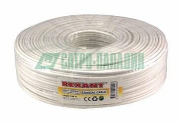 Rexant Кабель ККСВ-В+2х0,5 мм (бухта 100 м) белый REXANT (01-4001)