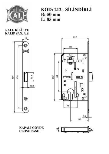 Kale Kilit 212 NI