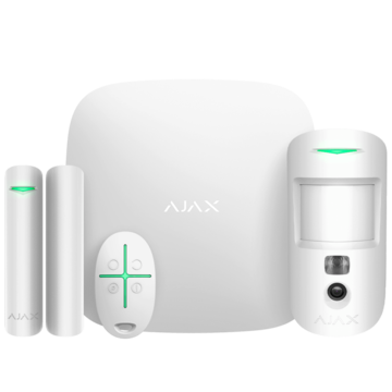 Ajax Ajax StarterKit Cam Plus white