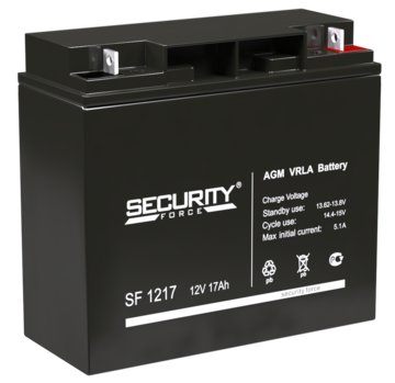 Security Force Аккумулятор 12В 17 А∙ч (SF 1217)